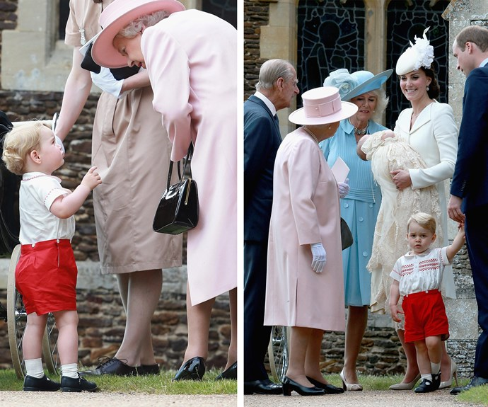 """So Granny, I get you're the Queen but I'm bored! Ahhh! Adults, am I right!?"""
