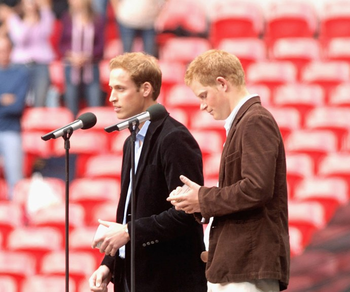 In 2007, William and Harry celebrated their mother with the aptly named *Concert For Diana*.