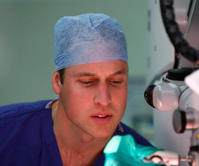 Following in his mother's footsteps! In 2007 Prince William took on the honourable role as the president of the Royal Marsden Hospital Trust - the same organisation Diana was president for for eight years.