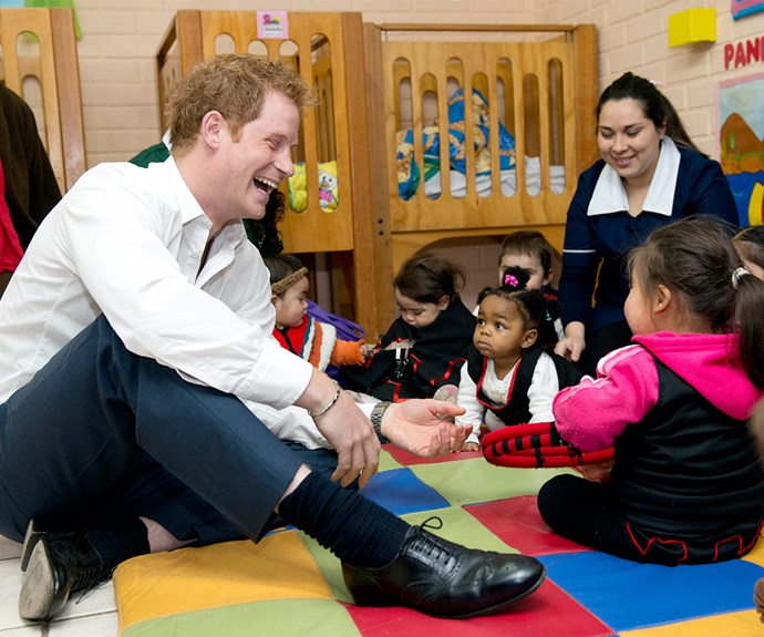 Just like his mother, Prince Harry has a magic touch with children. And during a tour of South America last year, the prince was almost moved to tears when he chatted to two young orphans  who had also suffered the tragedy of losing their beloved mum.