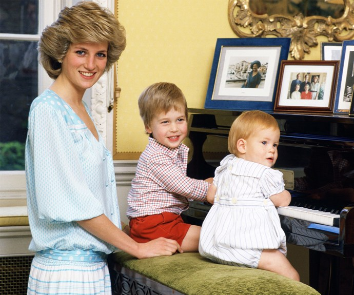 """Diana is never far from their mind: """" [If she was alive] she'd be sitting here having a laugh, whether she'd be in the background sticking her tongue out or whether she'd be playing football with the children,"""" Harry once mused."""