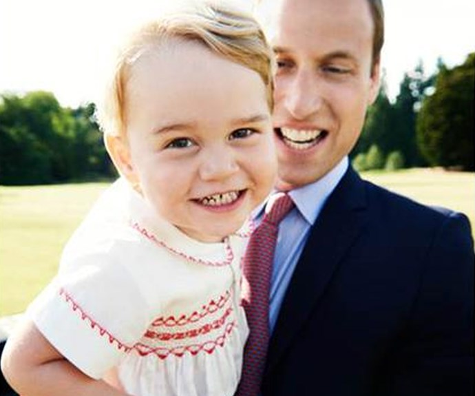 The ridiculously cute royal Prince George is embarking on a huge milestone... turning two! Just like us - Kensignton Palace was SO excited that they released this adorable snap!