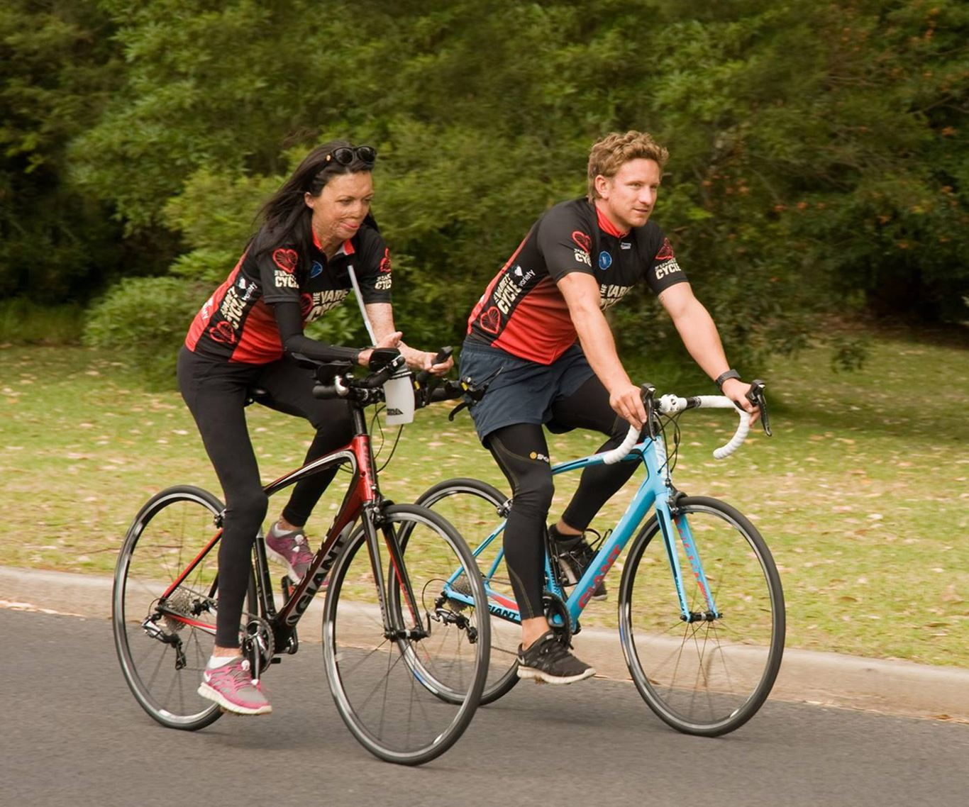 In pictures: Turia Pitt and Michael Hoskin's love story:She's a woman with an unstoppable spirit and it is easy to see why Micahel is so in-love with Turia. The pair are living life to the fullest.