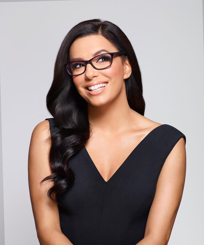 """I am confident, it's who I am,"" Eva, who is in Australia as an ambassador for Specsavers Spectacle Wearer of the Year,tells us."