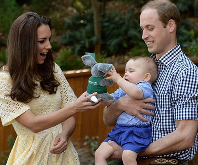 Australia was where William took his first steps way back in 1983 during Charles and Di's official tour of Down Under and NZ so it's all the more special the next generation embarked on the same royal tour 31 years later.