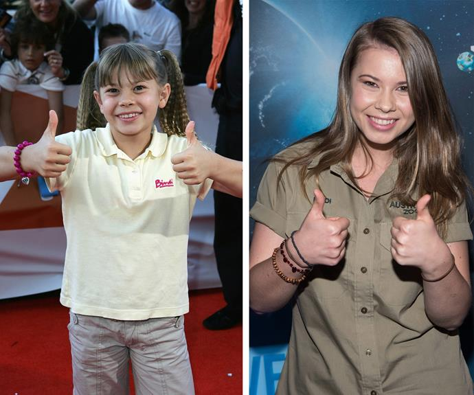 We cannot believe how much  Bindi Irwin has grown up! She really takes after her inspiring father, Steve Irwin.
