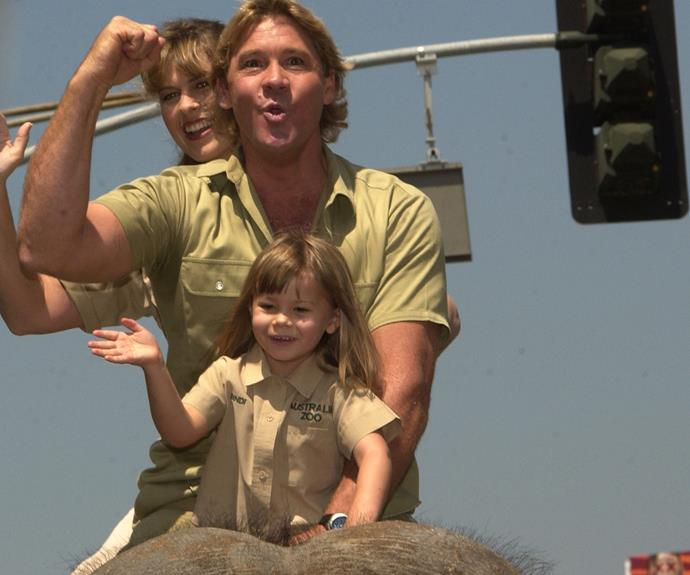 There aren't many families that can rock a photo while riding an elephant... in khaki no less!