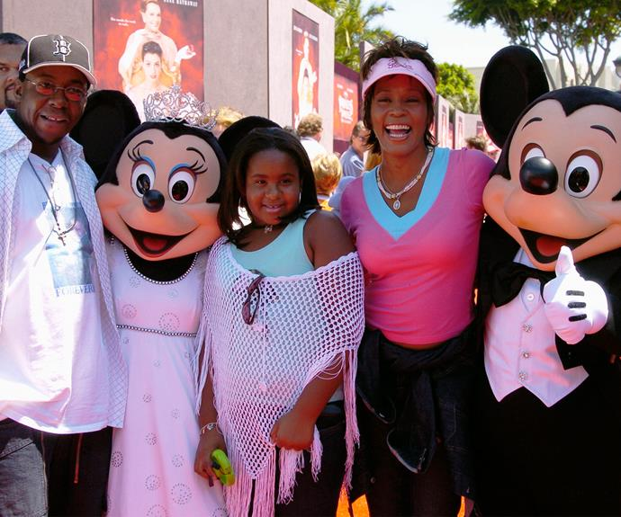 Bobby and Whitney with their angel, Bobbi Kristina in happier times.