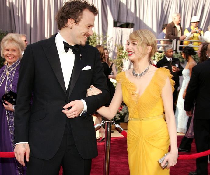 Heath Ledger was completely besotted with Michelle Williams when they worked together on the iconic 2005 film, *Brokeback Mountain*.