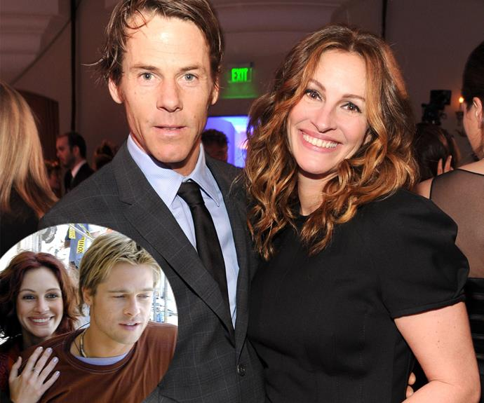 """In 2000, Julia Roberts met cameraman, Danny Moder on the set of *The Mexican*, in which she starred alongside Brad Pitt. In a real life the *Notting Hill* actress, she once said: """"He made me believe in myself in a whole brand-new way."""" They married in 2002 and have three children together."""