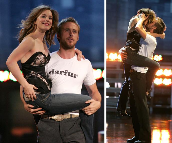 They embodied Noah and Allie and were the dream couple... #NeverForget! Sadly, the pair split in 2007.