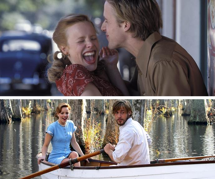 Honourable mention goes to *The Notebook's* Ryan Gosling and Rachel McAdams.
