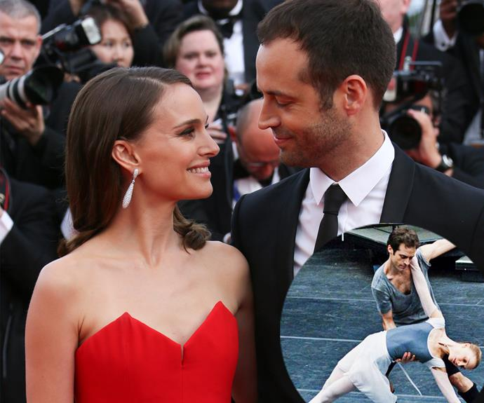 Pivoting into Natalie Portman's heart on the dance floor of *Black Swan* is Benjamin Millepied, who starred and choreographed the film. The gorgeous duo married in 2012 and welcomed son Aleph in 2011.