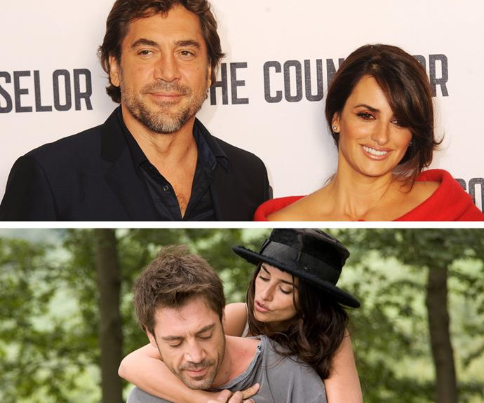 Penelope Cruz oozes seduction so it's no wonder that her *Vicky Cristina Barcelona* co-star, Javier Bardem fell in love with her. The pair wed in 2010 and have two children together.