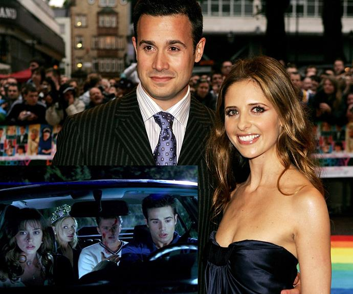 They are one of Tinseltown strongest couples... Sarah Michelle Gellar and Freddie Prinze Jr., who met while working on the '90s classic *I know What You Did Last Summer*. They married in 2002 and have two kids.