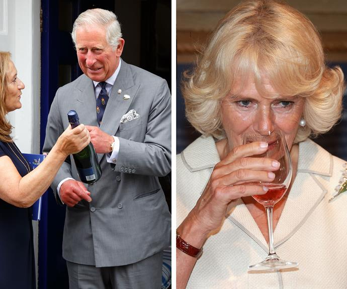 Prince Charles and Camilla, the Duchess of Cornwall may seem every part their royal titles but rest assure they could probably drink you under the table... and we love them for it!