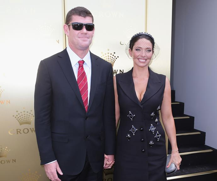 After six years and three children together, Erica and James Packer called time on their marriage in 2013.