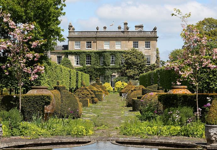 The stunning grounds of Highgrove Estate, Prince Charles' country home.