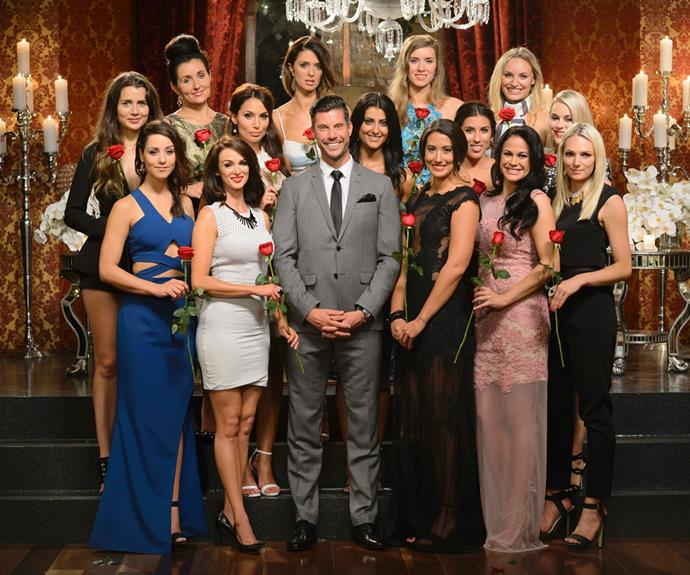 The remaining girls on *The Bachelor* 2015.