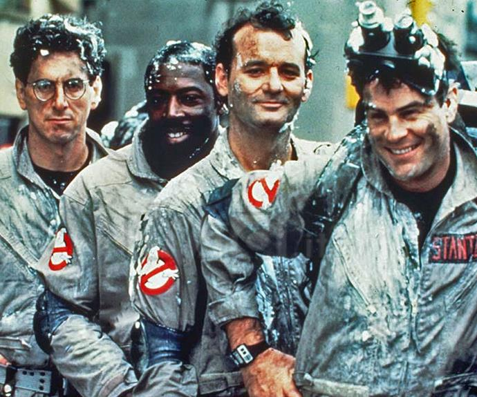 The originals: Harold Ramis,  Ernie Hudson, Bill Murray and Dan Aykroyd . They have big shoes to fill... but something tells us Melissa and the gals will be just fine!