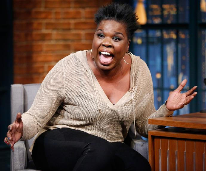 Leslie Jones as Patty Tolan, an NYC subway worker who stumbles across the main supernatural threat in the film. She becomes a new member of the team