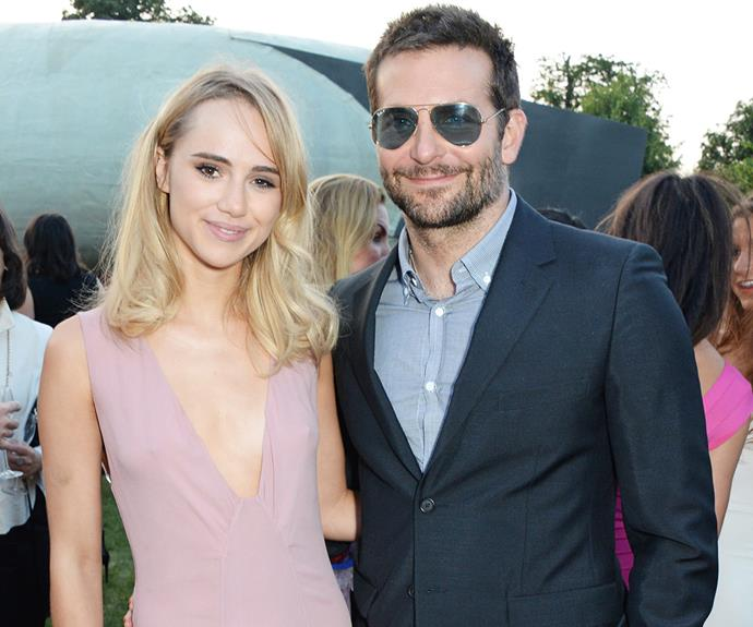 They swanned their way through the most glamorous of events and looked to be in love, despite their 17-year age gap. However Bradley Cooper, 40, and model Suki Waterhouse, 23, split in March. The actor has since moved on with another leggy lady, model Irina Shayk.
