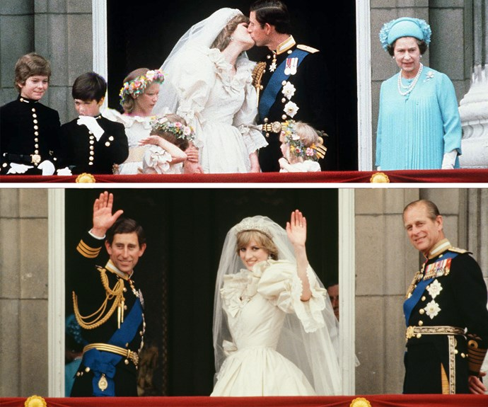 Princess Diana's enormous bridal gown has become one of the world's most iconic dresses. It was made of ivory silk and embellished with pearls, sequins and antique lace.