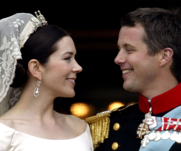 Australia's very own Princess! Crown Prince Frederik of Denmark and Mary tied the knot on 14 May 2004 at the Church of Our Lady in Copenhagen. For those of who remember staying up late to watch the exciting union on TV, it was clear Frederik was a man in love.