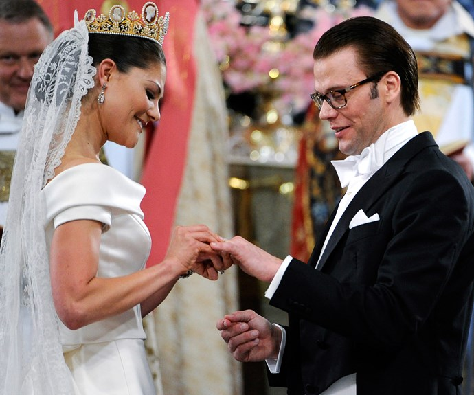 Getting fit found Sweden's Crown Princess Victoria love! She married her personal trainer Daniel Westling.