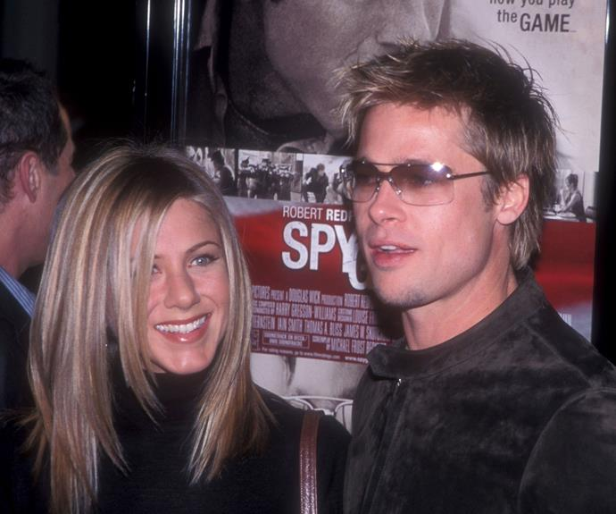 Jen and Brad called time on their marriage in 2005.