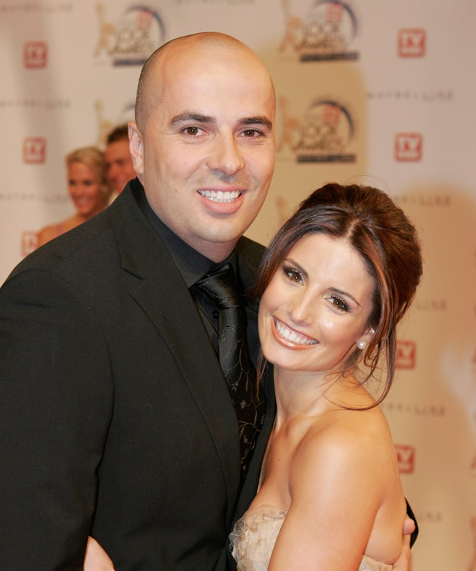 Ada and Chrys on the red carpet at the Logies in 2006.