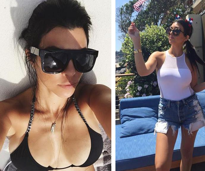 While the LA local is yet to officially comment on her newfound single status, a quick glance at her Instagram snaps (pictured) and it seems the striking star is having a great time.