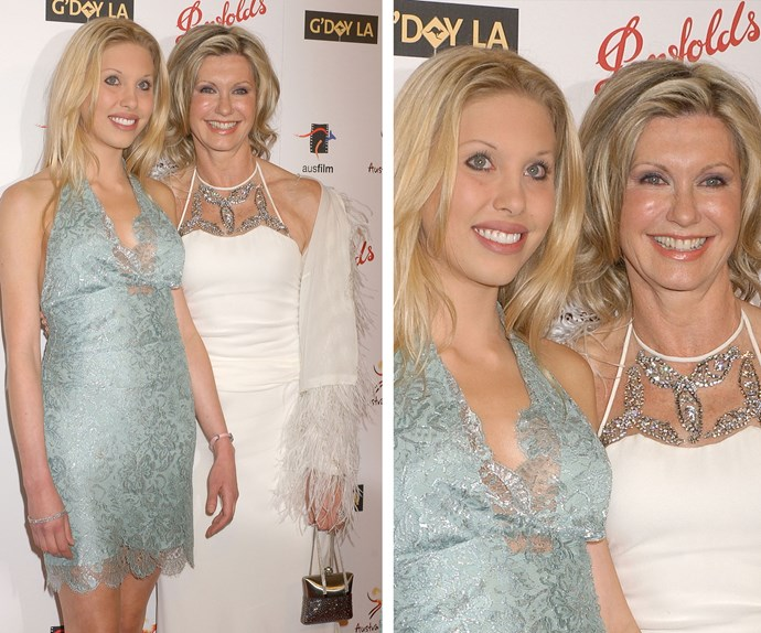 In 2006 at the G'Day LA Gala Chloe still looked like her mother's daughter with freshly-dyed blonde locks and a wide grin.
