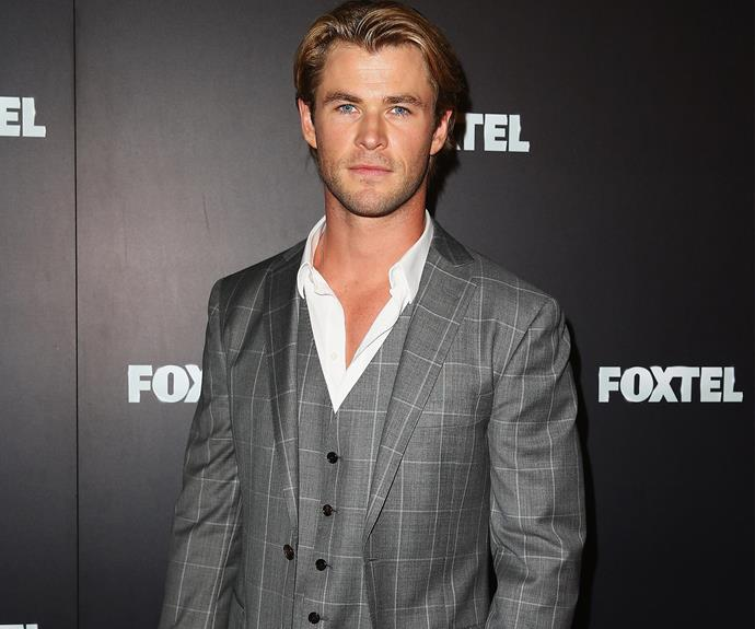 The ever-handsome Chris Hemsworth celebrates his 32nd birthday.
