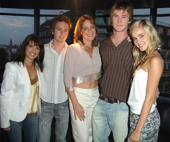 But we'll never forget his first role as *Home and Away*'s resident bad boy, Kim.