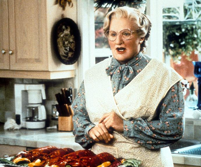 "He brought to life one of the world's most beloved characters Mrs Doubtfire and never failed to teach us a lesson or two about life, ""No matter what people tell you, words and ideas can change the world."""