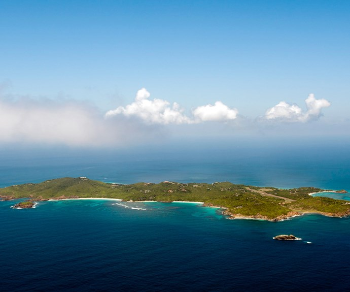 Kate and Wills' favourite holiday spot, Mustique Island.