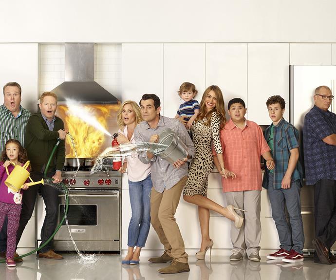 Sofia rose to fame playing Gloria Delgado-Pritchett in *Modern Family*