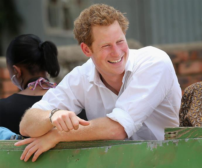 Prince Harry continues to reign supreme in our hearts and we are mighty impressed by his incredible work in Africa. Three cheers for Captain Wales!