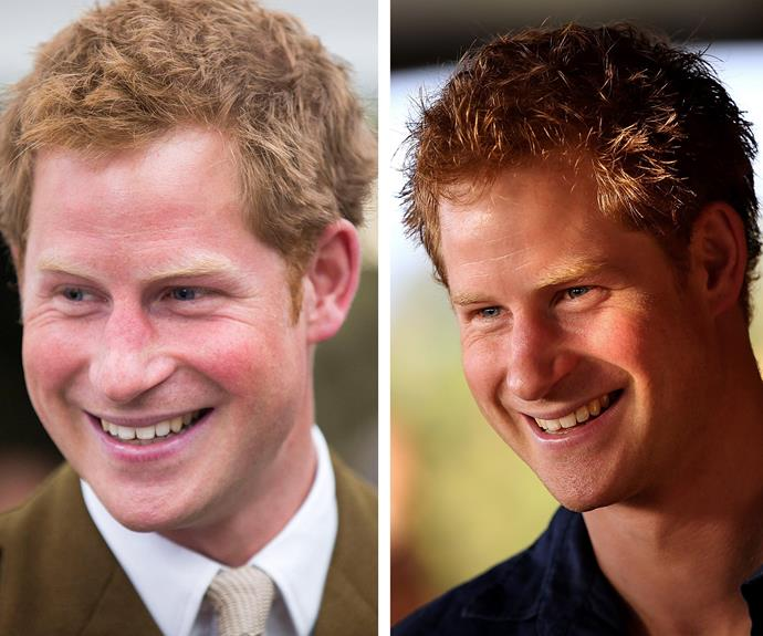 And we definitely wouldn't turn down that royally cute smile!
