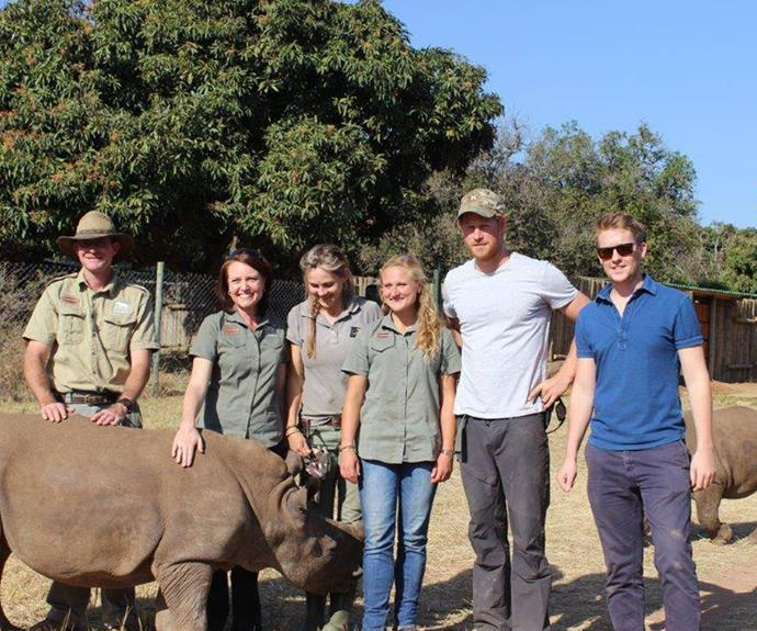 After months of not seeing Prince Harry, he has emerged from the African safari sporting a lovely and rather scruffy ginger beard.
