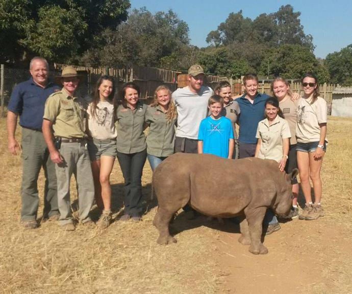 """Having described working with animals as his """"dream job"""", Prince Harry has made an appearance on the The African Conservation Experience Facebook page. He dropped into the African Conservation Experience's Khulula Care for Wild where he got the chance to hang out with orphaned rhinos."""