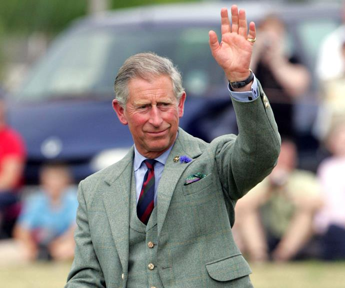Taking after his father, Prince Charles! Research has shown that left-handedness is partly genetic and partly environmental.