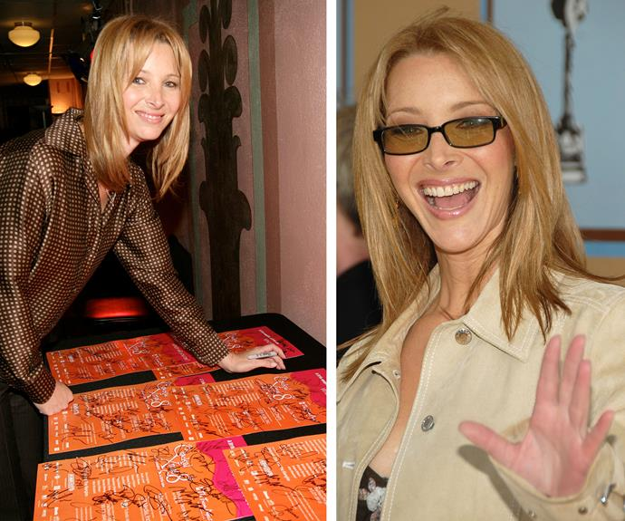 As is everyone's friend, Lisa Kudrow.