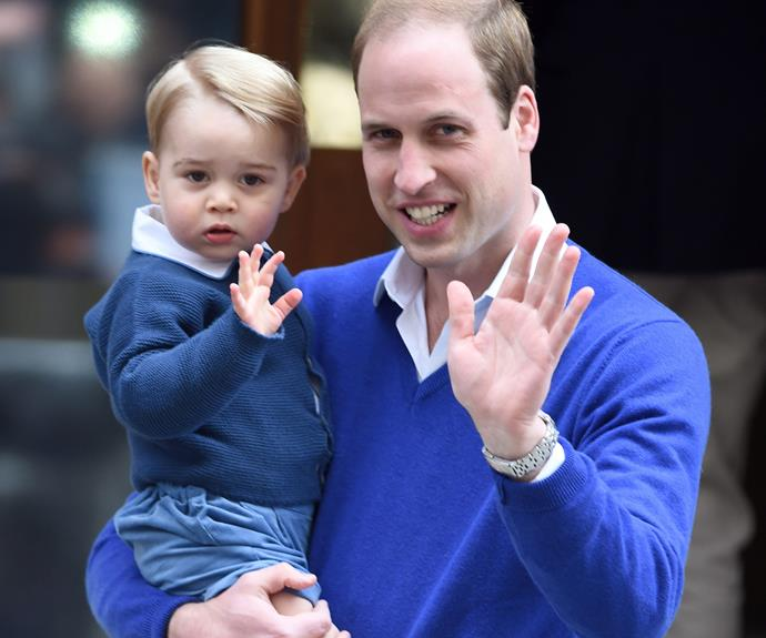 "There must be something in the royal waters because cheeky Prince George is also a leftie! And his dad couldn't be happier with one well-wisher repeating that Wills said: ""He said that he wanted George to be left-handed too as all the cleverest people are. Then he laughed and said he'll have to teach him, to make sure he does well in his exams."""