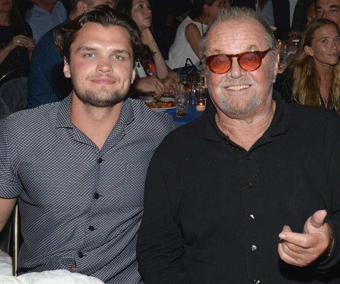 Jack Nicholson's 24-year-old son Ray is his spitting image! Talk about a double take.