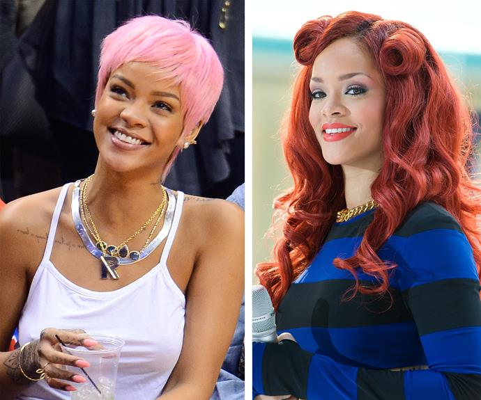 Rihanna's continued style evolution always extends to her locks. The popstar is continually surprising us with her unique and fun choices.