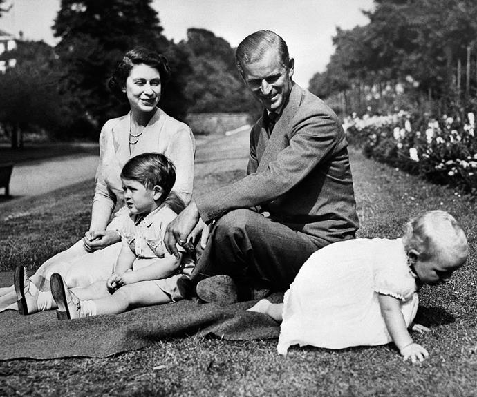 Queen Elizabeth may be the reigning monarch but she is also a wonderful mother, having raised four children.
