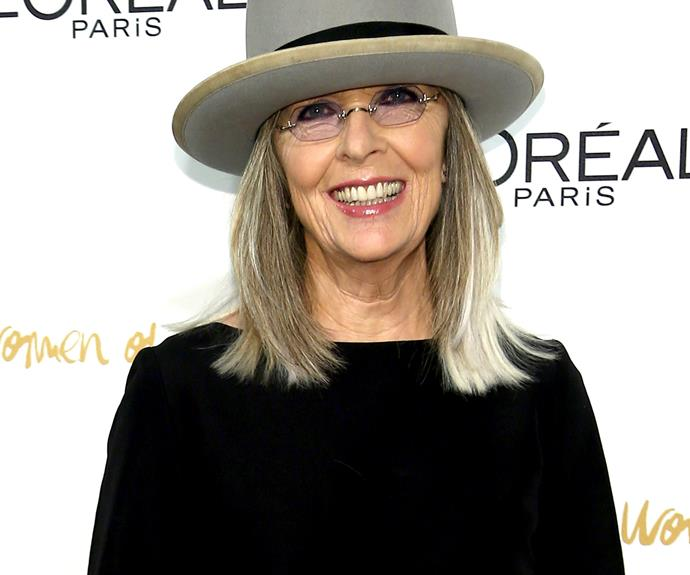 **Diane Keaton = Diane Hall.** In real life, she shares a last name with her most famous character, Annie Hall.