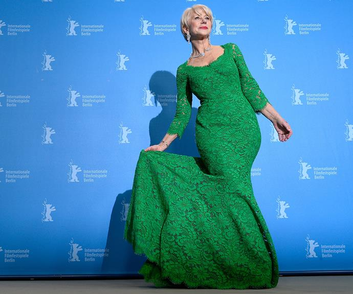 **Helen Mirren = Ilyena Lydia Mironoff.** Dame Helen Mirren is renowned for her graceful aging and prolific onscreen resumé, this Oscar winner was born in London in 1945 as Ilyena Lydia Mironoff.